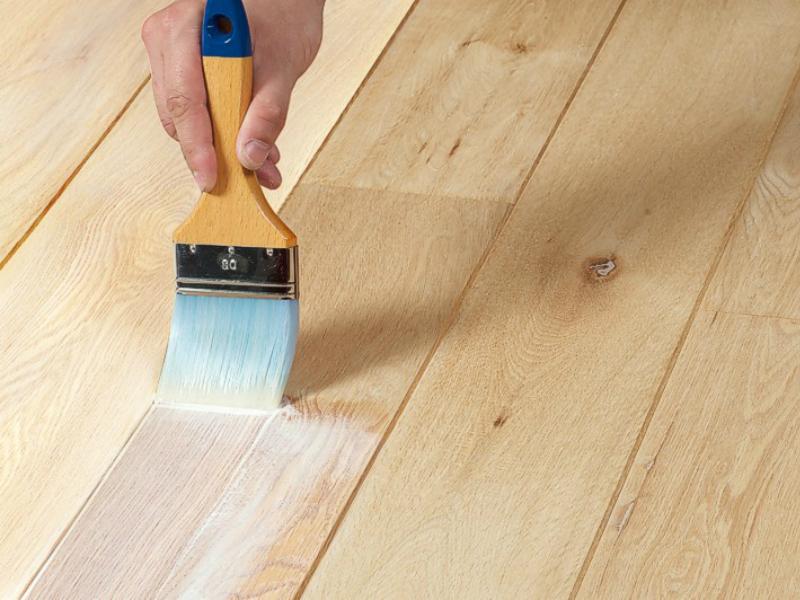 Elke houtsoort kan bewerkt worden met olie.